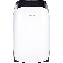 Portable Air Conditioner with Dehumidifier & Fan for Rooms Up To 700 Sq. Ft. with Remote Control (Black/White) - HL14CESWK