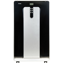 Haier 14,000 BTU 115V Dual-Hose Portable Air Conditioner with Remote Control - HPND14XCT