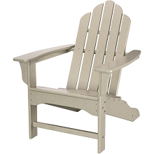 All-Weather Contoured Adirondack Chair in Sand - HVLNA10SA