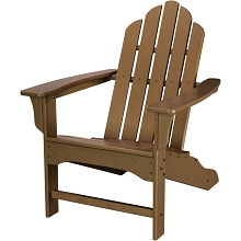All-Weather Contoured Adirondack Chair in Teak - HVLNA10TE