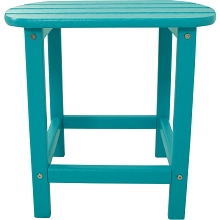 All-Weather Side Table in Aruba - HVSBT18AR