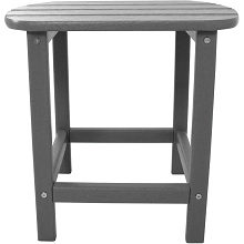 All-Weather Side Table in Grey - HVSBT18GY