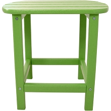 All-Weather Side Table in Lime - HVSBT18LI