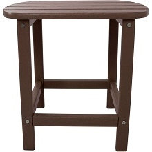 All-Weather Side Table in Mahogany - HVSBT18MA