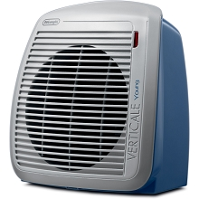 Delonghi 1500-Watt Fan Heater in Blue with Gray Face Plate - HVY1030BL