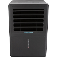 Keystone 50-Pint Dehumidifier in Black - KSTAD506B-BLK