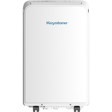 Keystone 115V Portable Heat/Cool Air Conditioner with Follow Me Remote Control for a Room up to 350 Sq. Ft., KSTAP13MAHC
