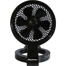 Keystone 7 In. Convertible Fan, Black - KSTFD070CAG