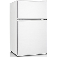 Keystone Energy Star 3.1 Cu. Ft. Compact 2-Door Refrigerator/Freezer in White - KSTRC312CW
