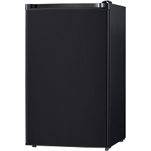 Keystone Energy Star 4.4 Cu. Ft. Compact Single-Door Refrigerator with Freezer in Black - KSTRC44CB