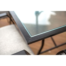 Lavallette Glass Dining Table - ODLA-TT
