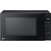LG NeoChef 1.2 Cu. Ft. 1200W Countertop Microwave in Smooth Black - LMC1275SB