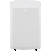 LG 115V Portable Air Conditioner with Remote Control in White for Rooms up to 200 Sq. Ft., LP0817WSR