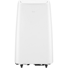 LG 115V Portable Air Conditioner with Remote Control in White for Rooms up to 300-Sq. Ft. - LP1018WNR