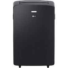 LG 115V Portable Air Conditioner with Remote Control in Graphite Gray for Rooms up to 400 Sq. Ft., LP1217GSR