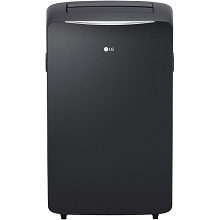 LG 115V Portable Air Conditioner with Supplemental Heating in Graphite Gray for Rooms up to 400-Sq. Ft. - LP1417SHR