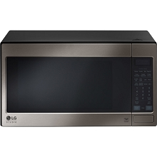 LG Studio Series 2.0 Cu. Ft. Countertop Microwave Oven in Black Stainless Steel - LSRM2010BD
