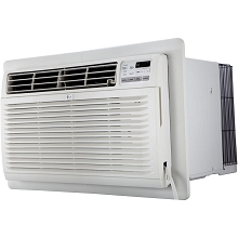 LG 10,000 BTU 230V Through-the-Wall Air Conditioner with 11,200 BTU Supplemental Heat Function - LT1037HNR