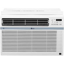 LG Energy Star 10,000 BTU 115V Window-Mounted Air Conditioner with Wi-Fi Control - LW1017ERSM