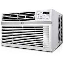 LG 15,000 BTU 115V Window-Mounted Air Conditioner with Remote Control - LW1516ER