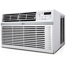 LG 18,000 BTU 230V Window-Mounted Air Conditioner with Remote Control - LW1816ER