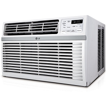 LG 24,500 BTU 230V Window-Mounted Air Conditioner with Remote Control - LW2516ER