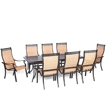 Manor 9PC Outdoor Dining Set - MANDN9PC