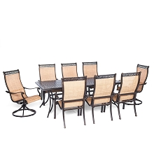 Manor 9PC Dinning Set - MANDN9PCSW-2