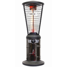 Lava Heat Italia Mini Ember Tabletop Liquid Propane Patio Heater - Gun Metal Finish, MINIEMBER-GM-LP