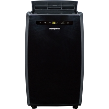 Portable Air Conditioner with Dehumidifier & Fan for Rooms Up To 550 Sq. Ft. with Remote Control in Black - MN12CESBB