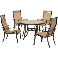 Monaco 5PC Dining Set - MONACO5PC