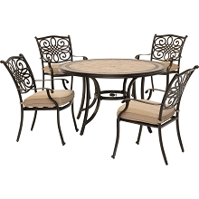 Monaco 5PC Dinning Set - MONDN5PC