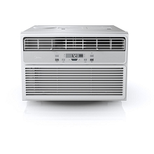 Midea EasyCool 6,000 BTU Window Air Conditioner with FollowMe Remote Control in White/Silver - MWA06CR71-A