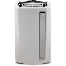 Delonghi 14,000 BTU Portable Air Conditioner with Heat Pump and BioSilver Air Filter - PAC-AN140HPEWC