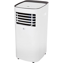 PerfectAire Portable Air Conditioner with Remote Control for Rooms up to 150-Sq. Ft., PORT8000A