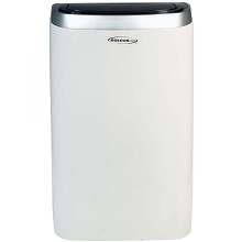 SoleusAir 14,000 BTU Portable Air Conditioner with 11,000 BTU Supplemental Heat and MyTemp Remote Control, PSC-14HP-01B