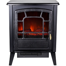 Warm House Bern Retro-Style Floor Standing Electric Fireplace - RSF-10324