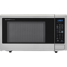 Sharp Carousel 1.8 Cu. Ft. 1100W Countertop Microwave Oven - SMC1842CS