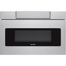 Sharp 30 In. Flat Panel Microwave Drawer in Stainless Steel - SMD3070AS