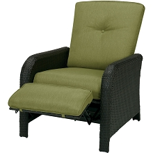 Strathmere Luxury Recliner in Cilantro Green - STRATHREC