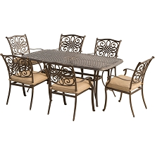 Traditions 7PC Outdoor Dining Set - TRADITIONS7PC
