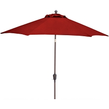 Hanover Traditions 11 Ft. Table Umbrella in Red - TRADUMB-11-R