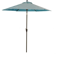 Table Umbrella in Blue for the Traditions Dining Collection - TRADUMBBLUE
