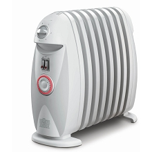 Delonghi Safeheat 1200W Portable Oil-Filled Radiator with GFI Plug and Timer - TRN0812T