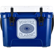 Vortex Classic Series 20-Quart Rotational-Molded Cooler in Navy, VC20NVY