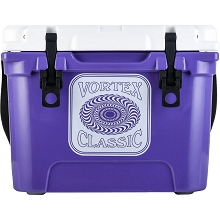 Vortex Classic Series 20-Quart Rotational-Molded Cooler in Ultra Violet, VC20ULV