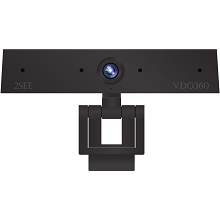 VDO360 2SEE Personal Visual Collaboration Webcam with a 4-Element Beamforming Microphone Array, VDOS4M
