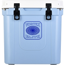 Vortex Elite Series 33-Quart Rotational-Molded Customizable Cooler System in Corn Flower, VE33CRN