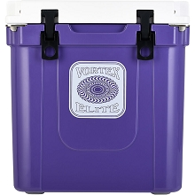 Vortex Elite Series 33-Quart Rotational-Molded Customizable Cooler System in Ultra Violet, VE33ULV
