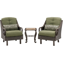 Ventura 3PC Chat Set in Vintage Meadow - VENTURA3PC-MDW